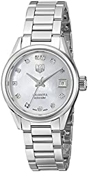 TAG Heuer Women's WAR2414.BA0770 Carrera Analog Display Swiss Automatic Silver Watch