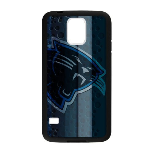 National Football League Carolina Panthers with Dots Custom Laser Technology Print Images Samsung Galaxy S5 TPU Case at Amazon.com