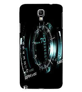 ColourCraft Digital Meter Design Back Case Cover for SAMSUNG GALAXY NOTE 3 NEO DUOS N7502