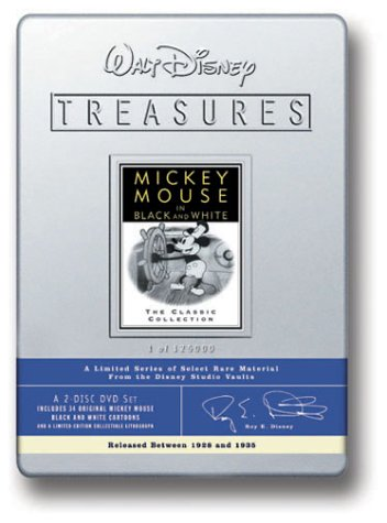 Walt Disney Treasures - Mickey Mouse In Black And White front-94595