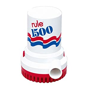 Buy Rule 1500 G.P.H. Automatic Bilge Pump by Rule