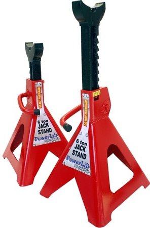 Big Roc Tools JS06 Jack Stand 6 Ton Ratchet Type, 17 x 11 in.