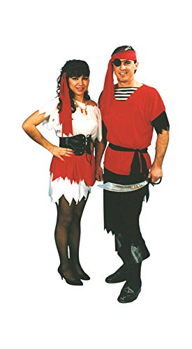 Adult Men's Captain Jack Costume (Size 40-44)