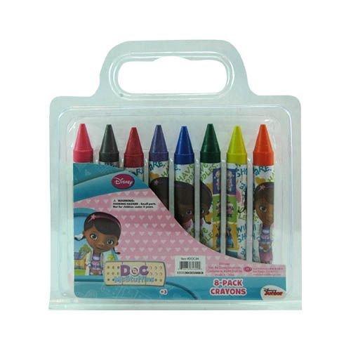 Doc McStuffins 8pk Jumbo Crayons