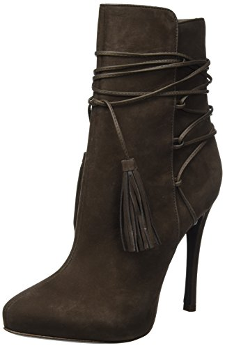 SchutzBack Laced Up - Stivaletti Donna , Marrone (Braun (HOT COFFEE)), 38|#Women