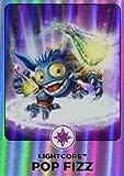 Skylanders Giants #161 Pop Fizz Rainbow Foil Trading Card