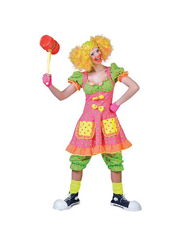 Pokey Dot Clown Costume for Women