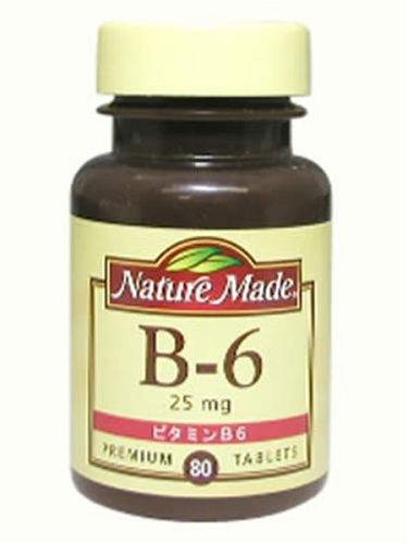 ネイチャーメイド ビタミンB6 25mg 80粒