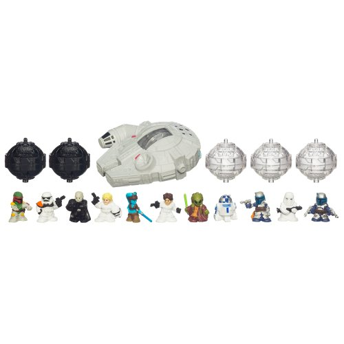 41ARQbWaXPL Cheap Buy  Star Wars Fighter Pods Figure 12Pack   Millennium Falcon Pack