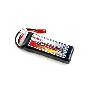 7.4V 25C 900mAh Battery Pack For Blade CX, CX2 Helicopter