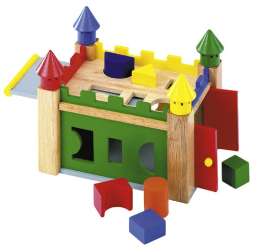 Buy Wooden Sorting Castle