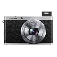 Fujifilm X-F1 12MP Point-and-Shoot Digital Camera (Black) with 4GB SD Card