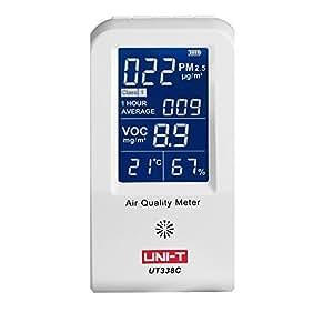 UNI-T UT938C Pm2.5 Detector Haze Dust VOC