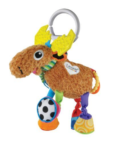 Lamaze Play and Grow Mortimer the Moose Take Along Toy