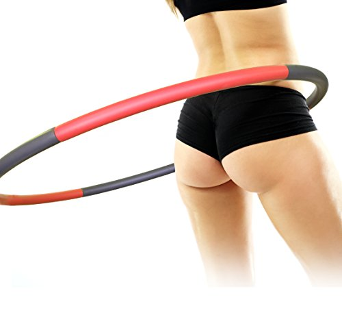 actervate-hula-hoop-waist-trimmer-weighted-adjustable-exercise-workout-equipment-home-gym-yoga-pilat
