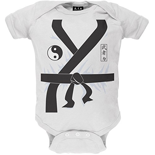 Karate Kid Costume Baby One Piece