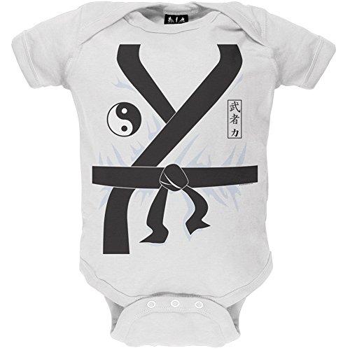 Karate Kid Costume Body da Neonato White 23 EU