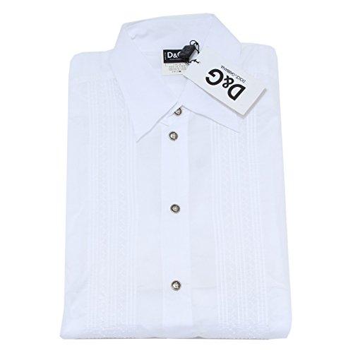 20855 camicia D&G DOLCE&GABBANA camicie uomo shirt men [38 (52)]
