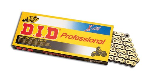 D.I.D 520 Pro-Street Vx2 Series X-Ring Chain - 118 Links - Gold , Chain Type: 520, Color: Gold, Chain Length: 118, Chain Application: Offroad 520Vx2G118Fb