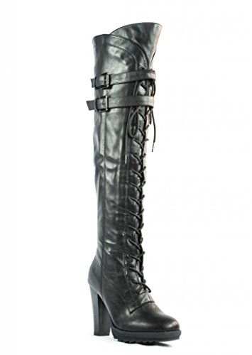 Dream-Pairs-Lacey-Over-Knee-High-Heel-Lace-up-Zipper-Closure-combat-Boots