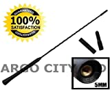 RUBBER BLACK REPLACEMENT BEE STING AERIAL ANTENNA MAST SUZUKI SX4 SALOON