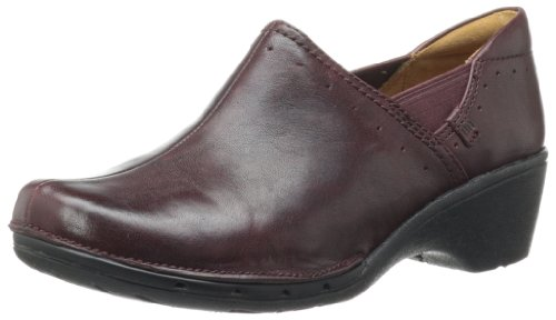 Clarks Women'S Un Lory Loafer,Burgundy Leather,12 M Us