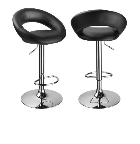 tabouret de bar pas cher noir. Black Bedroom Furniture Sets. Home Design Ideas