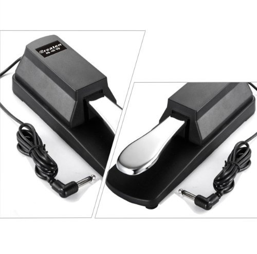 Racksoy - Universal Metal Sustain Pedal For Yamaha, Roland