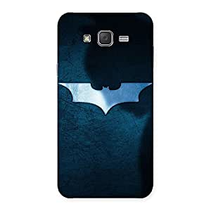 Stylish Blueish Knight Back Case Cover for Galaxy J7