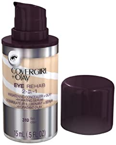 CoverGirl Plus Olay 310 Eye Rehab Concealer, Fair, 0.5 Fluid Ounce