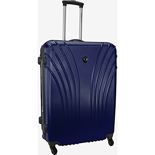 travelers-choice-28-hardside-lightweight-spinner-luggage-navy