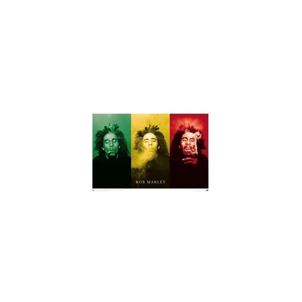 Bob Marley   Smoke 3 Pics! . Art POSTER Poster 36.00 X 24.00