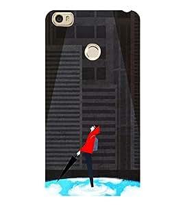 Boy Under spotlight 3D Hard Polycarbonate Designer Back Case Cover for Xiaomi Mi Max