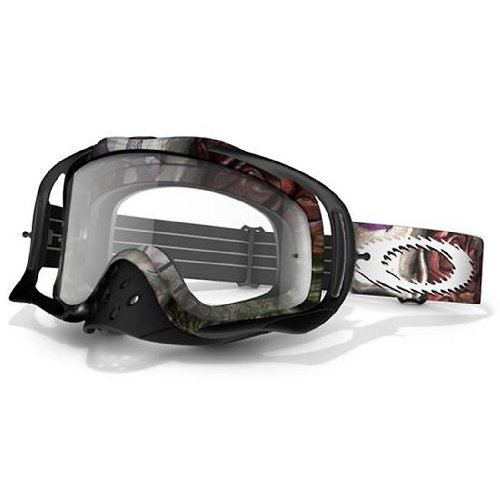 Oakley Crowbar MX Sleeved Goggles with Clear Lens горнолыжная маска oakley oakley crowbar хаки