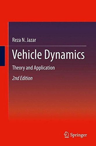 Vehicle Dynamics: Theory and Application PDF