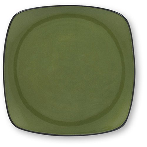 Buy Corelle Hearthstone 8-3/4-Inch Luncheon Plate, Bay Leaf Green-Square