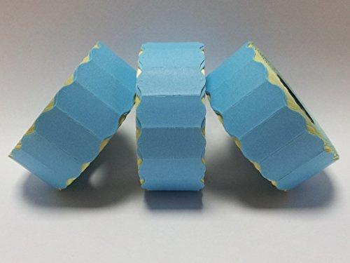 CT426mm x 12mm Prix Gun Labels-Étiquettes-bleu pelables-10rouleaux/15000étiquettes