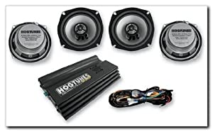 Hogtunes Big Ultra Amplifier And Speaker Kit For Harley Davidson Ultra Classics 1998-2011