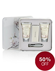 Floral Collection Magnolia Hand Therapy Tin