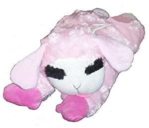 Multipet International Pink LambChop Dog Toy 10.5