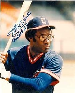 Bobby Bonds autographed 8x10 Photo (Cleveland Indians)