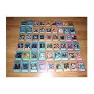 Yugioh Cards Lot of 40 Commons, 10 Rares & 5 Holos No Duplicates - 1