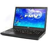 富士通 FMVA0600MP LIFEBOOK Windows7Pro 32bit/64bit Celeron 2GB 500GB DVDスーパーマルチ 無線LAN 10キー付キーボード 15.6型液晶ノートパソコン