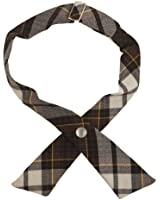 French Toast School Uniforms Adjustable Plaid Cross Tie Girls