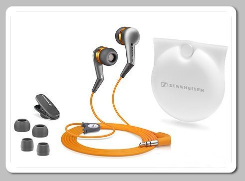 Sennheiser  CX380 Sport Series II Noise Isolating Earbuds