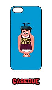 Caseque Ghanta College Back Shell Case Cover for Apple iPhone 5/5S