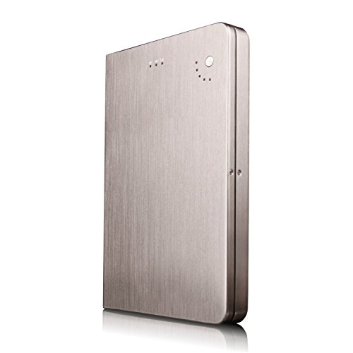 28000mAh Portable External Battery Charger for HP EliteBook 8540w Mobile Workstation - High Capacity Multi-Voltage (5V 12V 16V 19V) Power Bank with US/EU/UK Plug