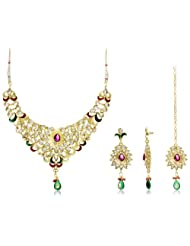 Sia Art Jewellery Jewellery-Set for Women (Multi-color) (AZ274)