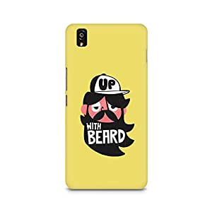 Ebby Grow-with-Beard Premium Printed Case For OnePlus X