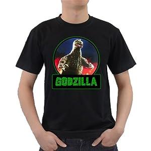 Buy Godzilla Logo Art Design T-shirt Great Gift Ideas for Adults, Men, Boys, Youth, & Teens,... by Songsak